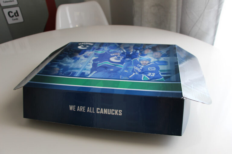 Packaging Project we did for the Canucks
